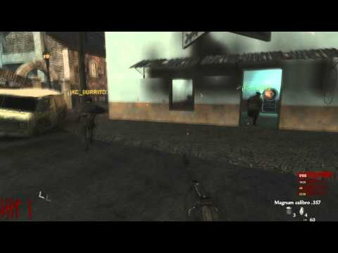 [Parte 1] Nazi Zombie Slums - Custom Map #36 - Call of Duty World at War (Italiano)