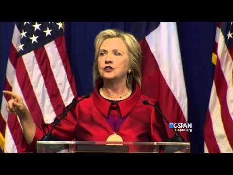 CLIP: Hillary Clinton on Voting Rights (C-SPAN)