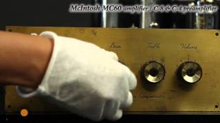 McIntosh MC-60 poweramplifier / C4&C8 preamplifier