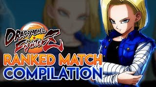 [DBFZ] Final Day Ranked Match Compilation