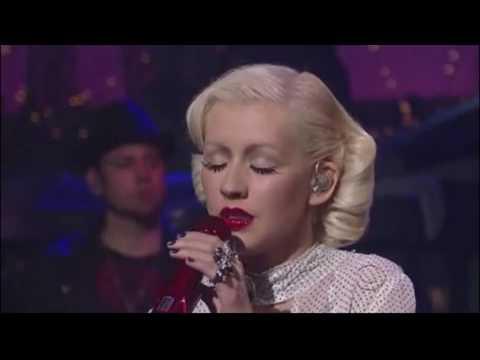 Christina Aguilera live (you lost me) plus lyrics...  bionic. HD