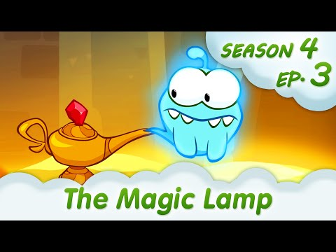 OM Nom Stories: The Magic Lamp (Cut the Rope: Magic, Episode 3) @KEDOO ANIMATIONS 4 KIDS