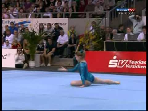 Dominique Pegg CAN - Floor @ Cottbus 2012 - 3rd place