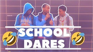 EXTREME DARES😱   HighSchool Edition (EXTREMELY FUNNY😂)