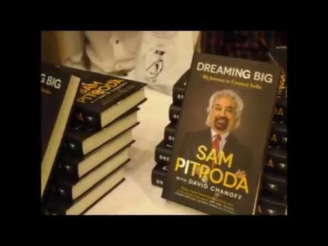 Mukesh Ambani launches Sam Pitroda's autobiography