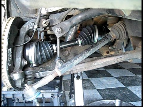 How To Replace Front Wheel Drive Shaft Half Shaft Cv Axle