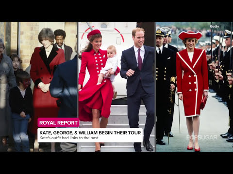 Kate Middleton and Prince George Arrive in New Zealand | Royal Report