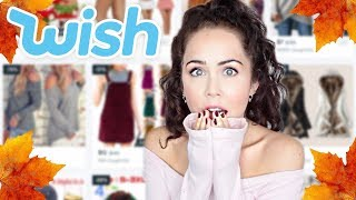 AUTUMN WISH.COM CLOTHES TRY ON HAUL! Catfished!