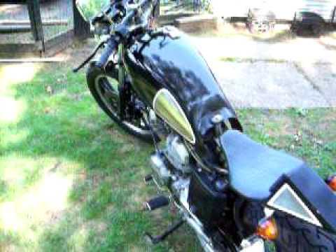 1983 Yamaha Virago 500 Cafe Racer 1983 Yamaha Xv500 Cafe Racer