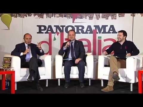 Panorama d'Italia - Dibattito integrale con Matteo Salvini, Bruno Vespa e Giorgio Mulè