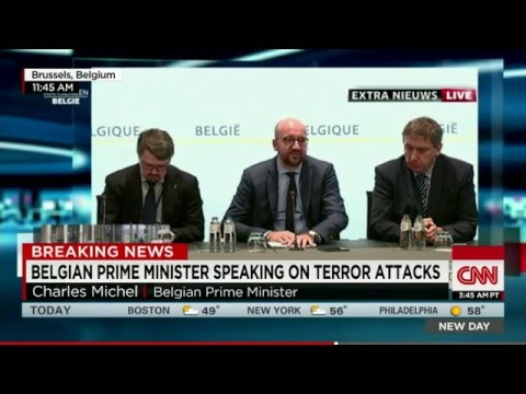 Deadly Terror Attacks Rock Airport, Subway In Brussels, Belgium