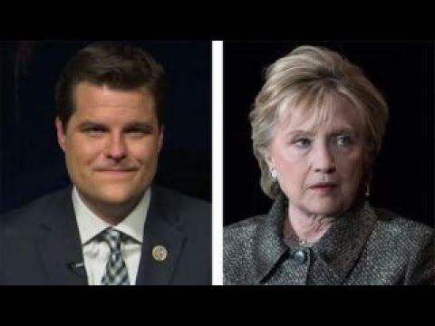 Rep. Gaetz: I want answers on 'special' treatment of Clinton
