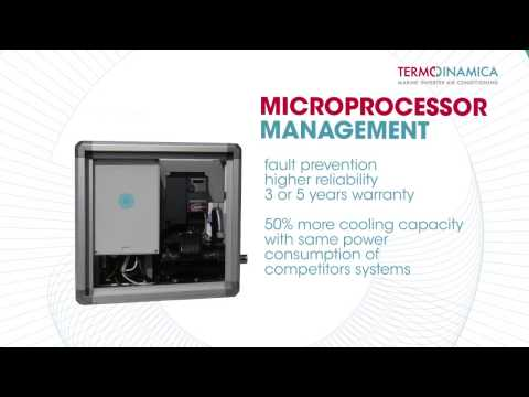 Innovative marine inverter air conditioning by Termodinamica