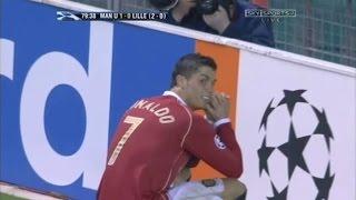 Cristiano Ronaldo Vs Lille Home 06-07 By zBorges
