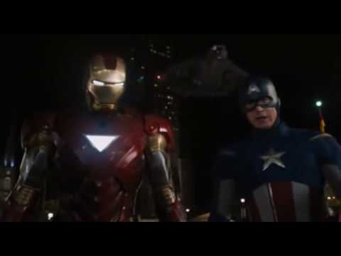 Iron Man e Captain America VS Loki Ita