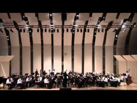 NASSAU SUFFOLK HONOR BAND CONCERT 2 1 2013 CW POST TILLES CENTER TRITTICO  1 OF 4