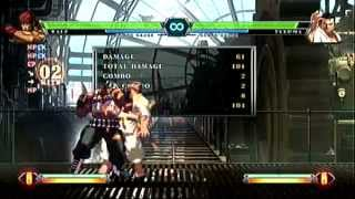 [KOF XIII] Ralph HD mode