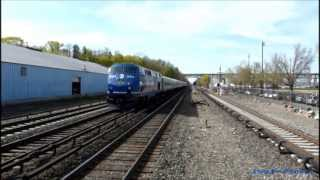 Metro North TEN Shoreliner HEP Test Train @ Tarrytown (Hudson Line)