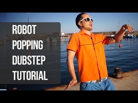 Уроки танцев: стили robot, dubstep, popping. Как добавить иллюзию.