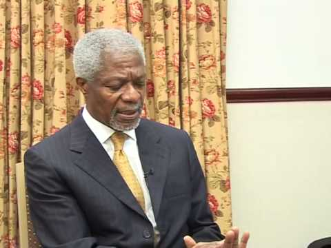 Kofi Annan - On Zimbabwe