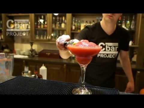 Коктейль Клубничная Маргарита Strawberry Margarita рецепт от Cbar-project