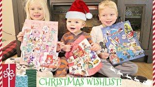 LETTERS TO SANTA! *Kids Christms List*