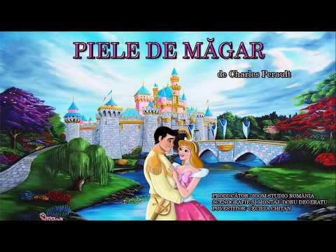 PIELE DE MAGAR, DE CHARLES PERRAULT, Povesti Pentru Copii
