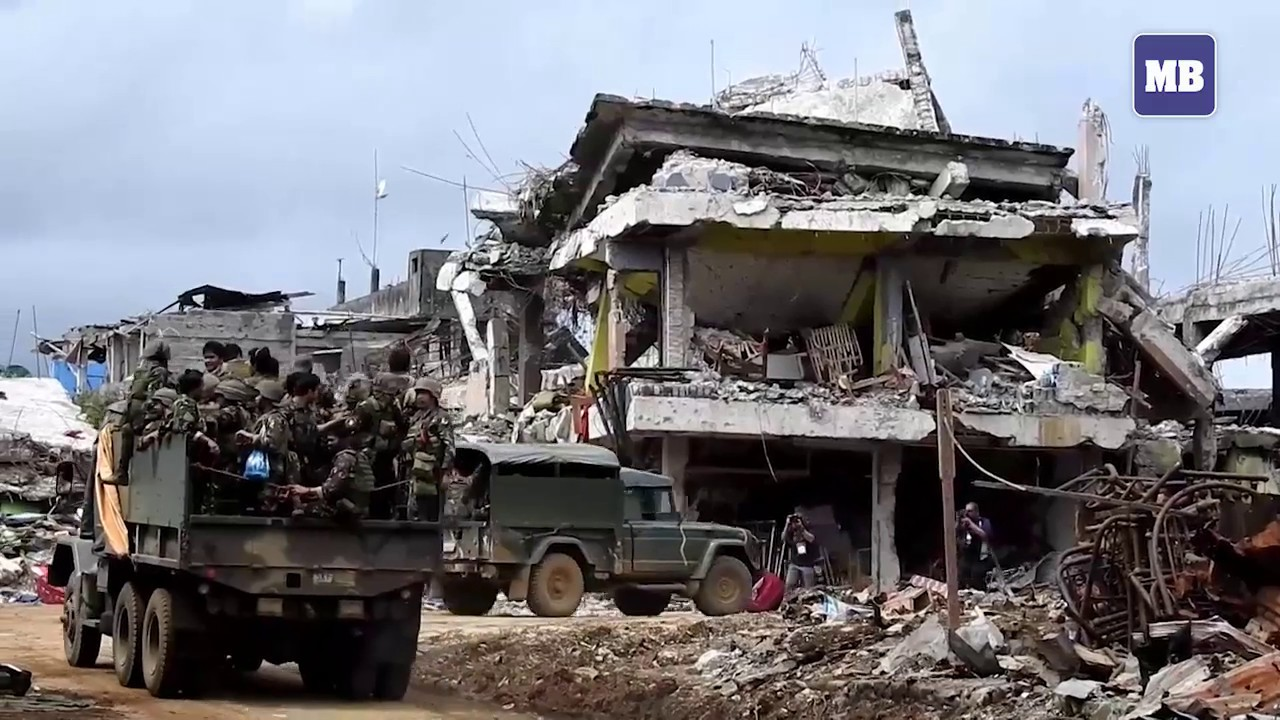 Marawi in ruins after city is 'liberated' from insurgents