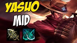 CAMPEÃO MAIS ROUBADO DO LOL - YASUO MID GAMEPLAY - LEAGUE OF LEGENDS - ETERNOLOL