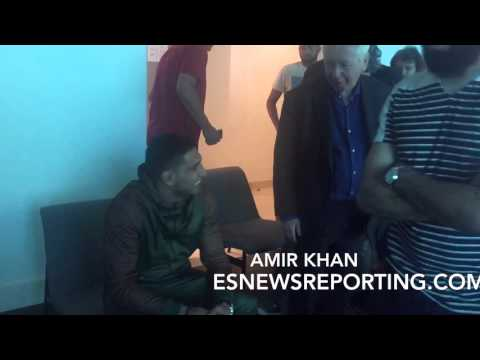 AMIR KHAN IN HIGH SPIRITS AFTER MEGA FIGHT WITH CANELO - EsNews Boxing