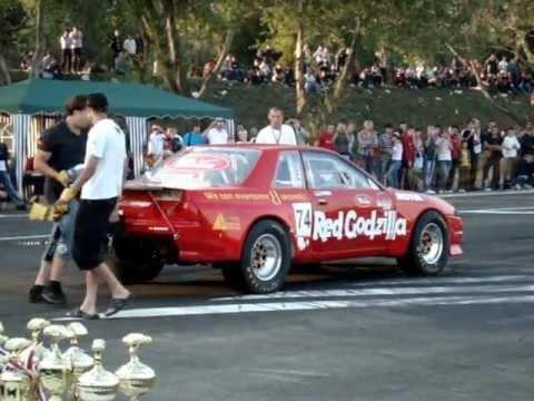 Drag Racing Краснодар 2011 Red Godzilla