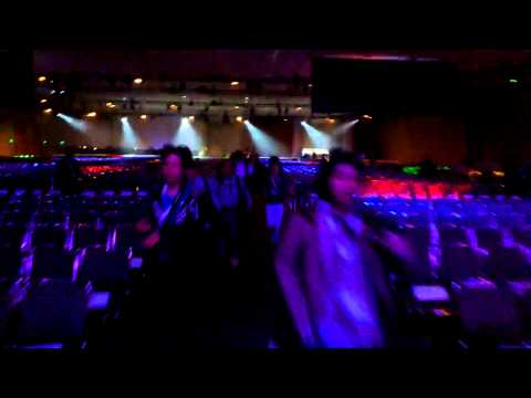 Google I/O 2013 - Running into the keynote! (Recorded with Google Glass)