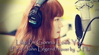 Meghan Trainor Like I m Gonna Lose You ft John Legend cover by J Fla