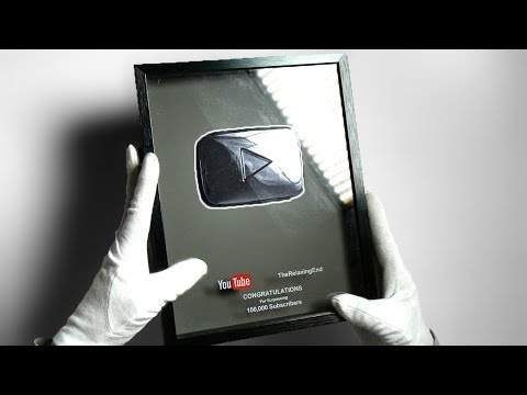 YOUTUBE REMEMBERED ME... (Kinda) Unboxing Silver Play Button