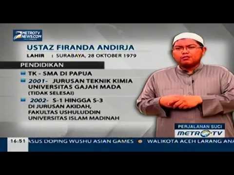 Profil Singkat Firanda Andirja, Lc., M.A.