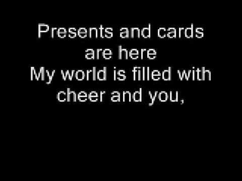 This Christmas Chris Brown With Lyrics - YouTube