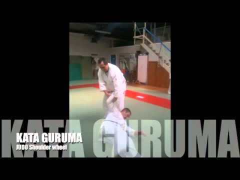 KATA GURUMA Judo SHOULDER WHEEL Variations Image 1