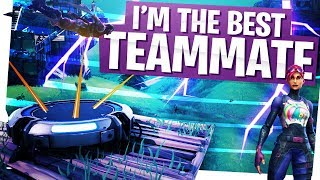 I AM THE BEST TEAMMATE IN THE GAME! - Fortnite 24 Kill Duos Gameplay