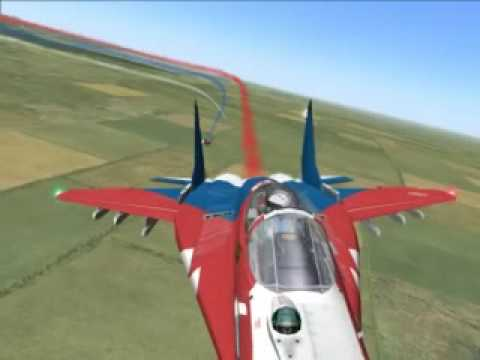 made with lock on modern air combat simulation.