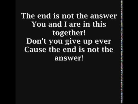 Three Days Grace - The End Is Not The Answer
