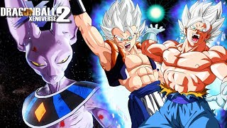 THE FINAL BATTLE! Mastered Ultra Instinct Vegito And Gogeta Vs Beerus | Dragon Ball Xenoverse 2 Mods