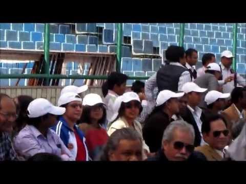 Cricket Match Supreme Court Judges XI Vs SCBA XI at Firozshah Kotla Stadium