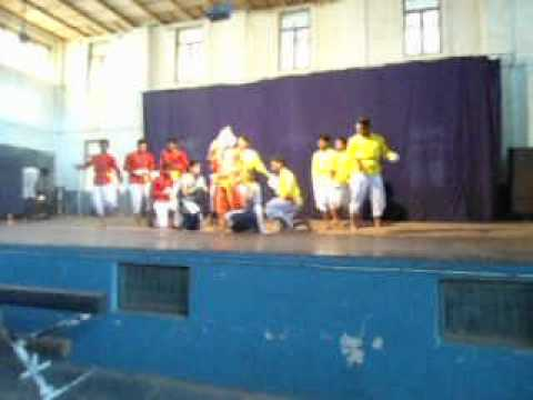 Best Group Dance Vande Mataram Dance By M V A S College Students 2012 video
