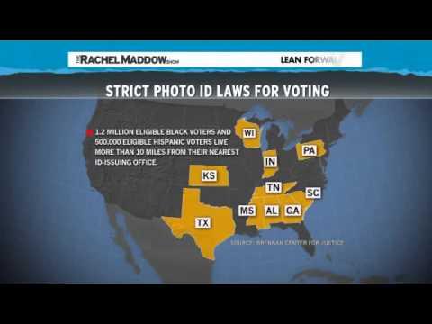 Rachel Maddow Republicans manipulate voting law, undermine tenet of