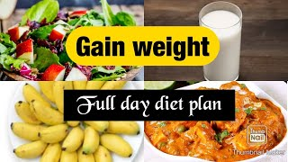 How to gain weight fast | full day diet plan | veg & non-veg| Results in 30 days| Nepali