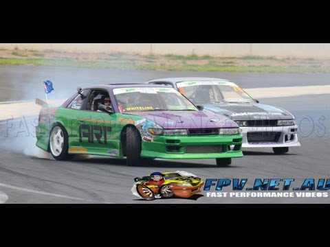DRIFTING AT POWERCRUISE #41 SYDNEY MOTORSPORT PARK 2013
