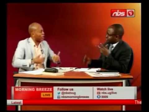 Frank Gashumba Interviewed after meeting President Museveni Part1