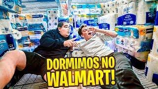 PASSAMOS UMA NOITE NO WALMART !! *fui expulso?* ‹ JonVlogs ›