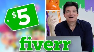 I Paid an Artist on FIVERR $5 To Animate My Cartoon | Butch Hartman