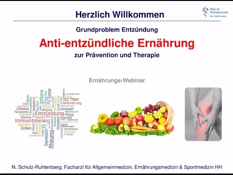 Anti-entzündliche Ernährung (Auszug Ernährungs-Webinar)